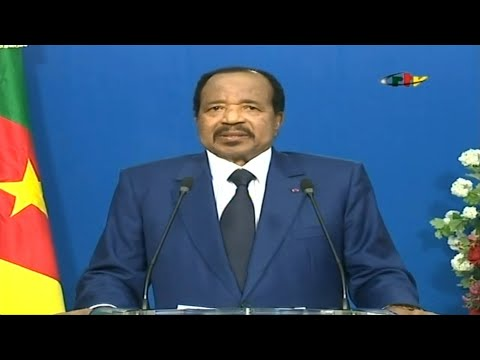 "Cameroon president urges ""national dialogue"" on separatist crisis 