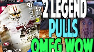 NO F*CKING WAY 2 YES 2 LEGEND PULLS!! BOOM BABY | MADDEN 16 ULTIMATE TEAM PACK OPENING