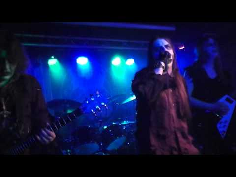 DENIAL OF GOD - Robbing The Grave Of The Priest live Berlin 2013-02-04