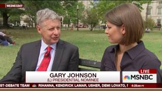 Reptoid? Gary Johnson sticks tongue out while talking during interview - WARNING: SUPER CRINGY
