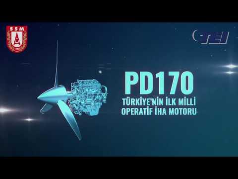 TÜRKİYE'NİN İLK MİLLÎ ASKERİ TURBODİZEL MOTORU PD170