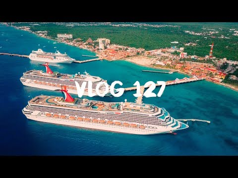 SNEAKING ON A ROOF IN MEXICO TO DRONE | TYLER AND HANNAH VLOG 127 | CARNIVAL CRUISE | SONY A6300 4K