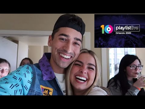 MY FIRST TIME AT PLAYLIST LIVE ORLANDO 2020! (I MADE FRIENDS)
