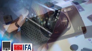 Lenovo на IFA 2016: камера-модуль и ноутбук с сенсорной панелью