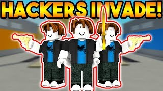 "BACON HAIR ""HACKERS"" INVADE ARSENAL ON ROBLOX!"