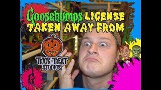 Scholastic Goosebumps License Taken Away From Trick Or Treat Studios!
