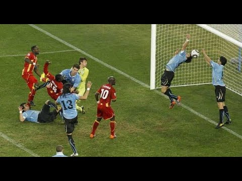 УРУГВАЙ - ГАНА - 1:1 (4:2) Чемпионат мира 2010 ⚽ 1/4 финала ● Uruguay Vs Ghana 2010 World Cup 🔥