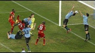 УРУГВАЙ - ГАНА - 1:1 (4:2) Чемпионат мира 2010  1/4 финала  Uruguay vs Ghana 2010 World Cup