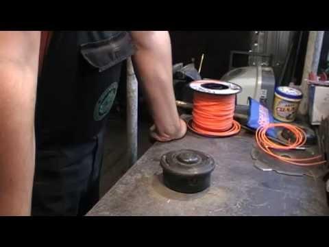 Как заменить леску в триммере штиль видео