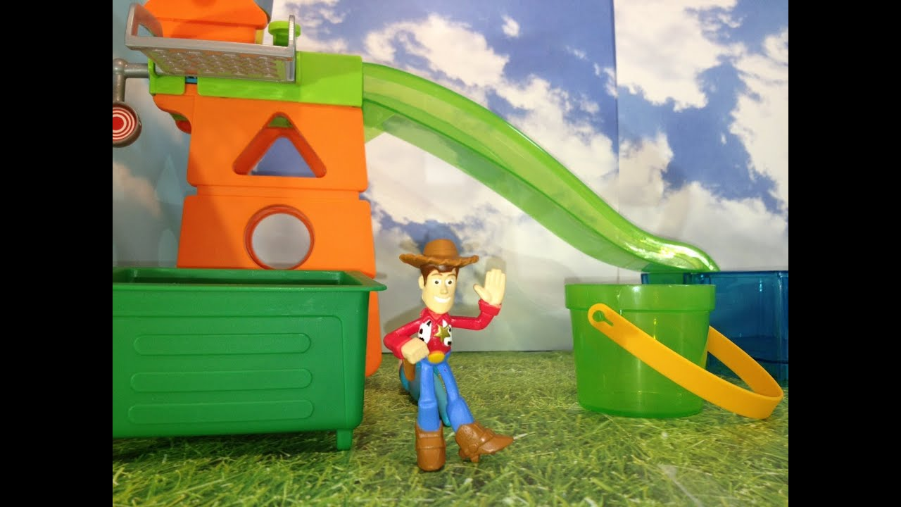 Toy Story Playground : Toy story color changer slide n surprise playground