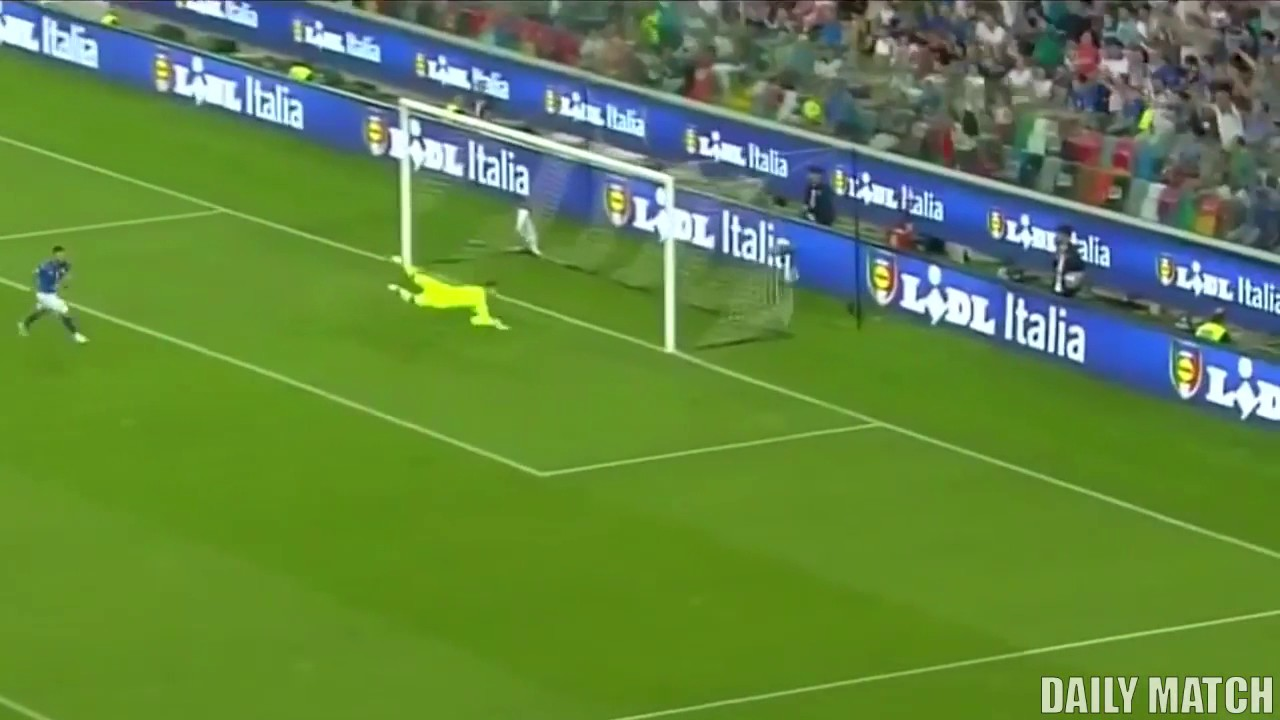 Италия - Лихтенштейн 5:0 видео