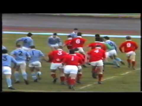 Rugby : Eng Colts v Midland Colts (U19) 1989