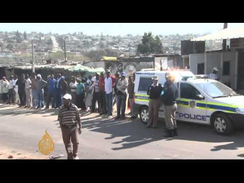 Riots hit South Africa township after shooting