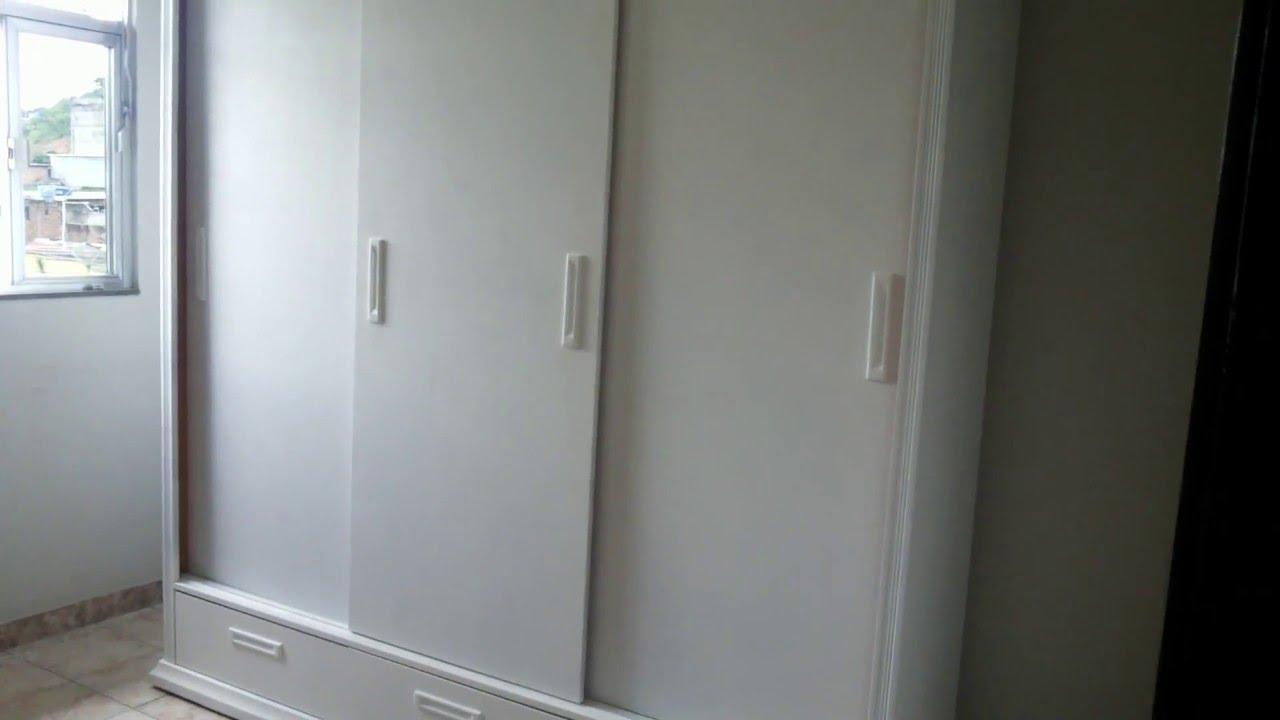Guarda Roupa Em L ~ Laqueado Branco em guarda roupa Barra Mansa RJ YouTube