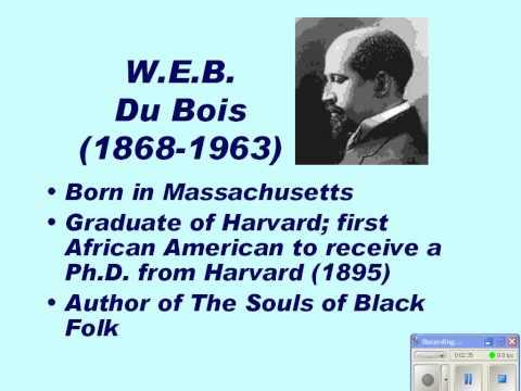 Three Strategies for Change: Booker T. Washington, W.E.B. Du Bois, Marcus Garvey