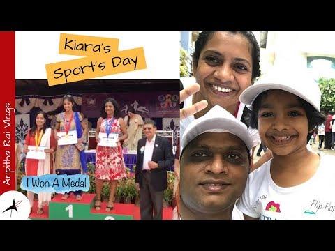 I Won A Medal | Miniathon For Child Safety | Sport's Day Celebration | Arpitha Rai Vlogs