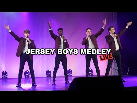 JERSEY BOYS MEDLEY (live) - talented teens aged 14-17 | Spirit Young Performers Company