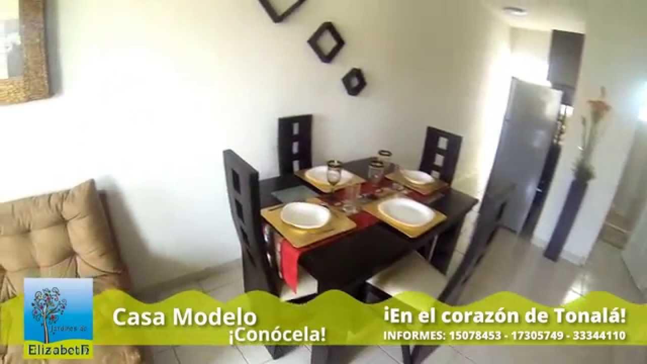 Jardines elizabeth tonal youtube for Modelos de jardines para casas