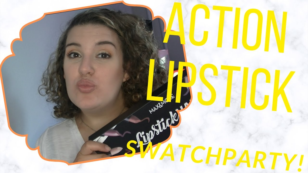ACTION LIPSTICK VAULT SWATCHPARTY! ★ MARIANNA