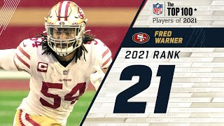#21 Fred Warner (LB, 49ers) | Top 100 Players in 2021