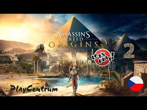 Assassin's Creed Origins CZ | Xbox One X - Enhanced Graphics | CZ Let's Play 2. část
