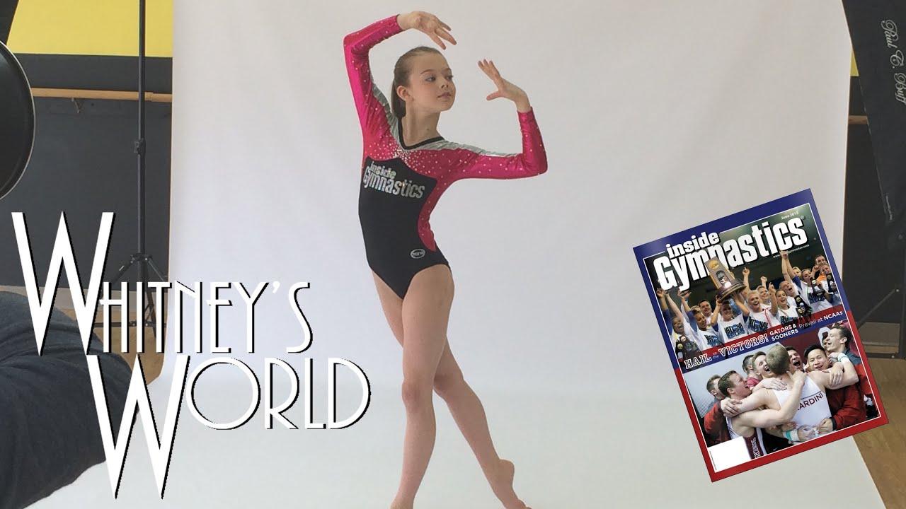 Whitney Models for Inside Gymnastics Magazine Leotard Photo Shoot