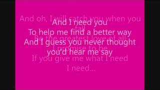 I need love - Laura Pausini (lyrics)