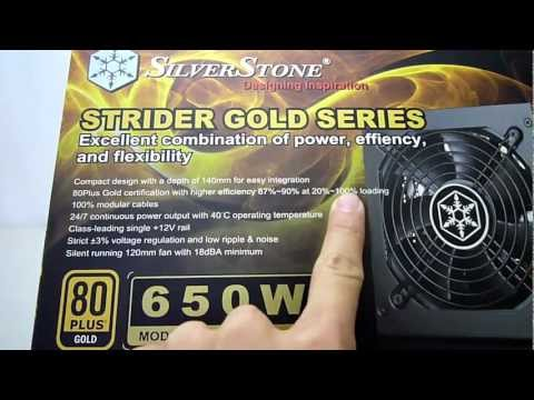 Silverstone Strider Gold 650w power supply review - Maximum PCs Australia