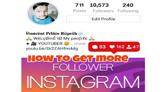How to increase INSTAGRAM followers (2019)