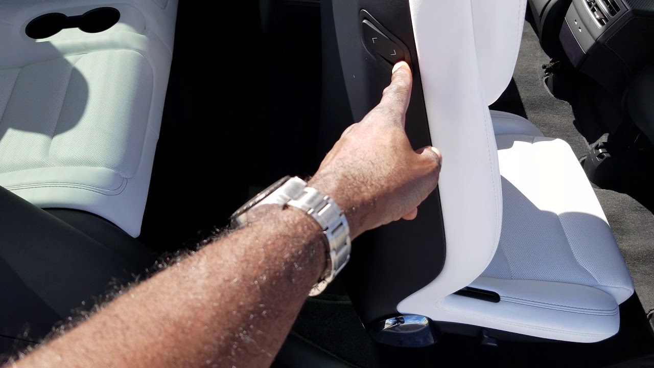 Tesla Model X with 6 Seat Center Console - YouTube