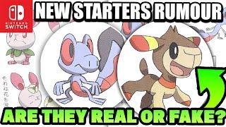 NEW Pokemon Switch 2019 Gen 8 STARTER RUMOUR!? - AWESOME LOOKING STARTERS New Pokemon Switch Gen 8!?