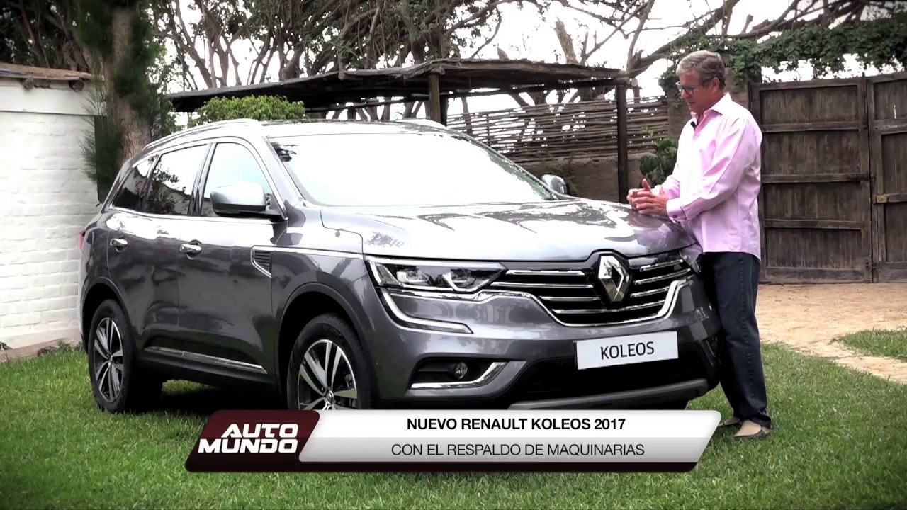 renault koleos 2017 por jorge koechlin youtube. Black Bedroom Furniture Sets. Home Design Ideas