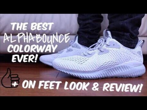 bc4c73755ed19 AMS 2.0 Alpha Bounce Clear Grey Review! Plus on Feet Look!! - YouTube