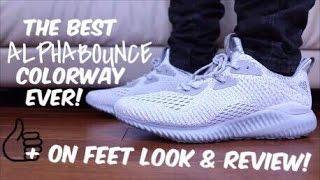 336b81b325554 ดาวน์โหลดเพลง Ams 2.0 Alpha Bounce Clear Grey Review! Plus On Feet Look!!  หรือฟังที่ VMiXe