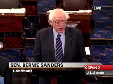 Bernie Sanders: Repeal the Tax Cuts (3/8/2007)
