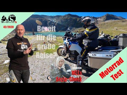 Honda CRF1100L Africa Twin Adventure Sports ES DCT Reisetest | Zu zweit mit Gepäck auf Alpentour