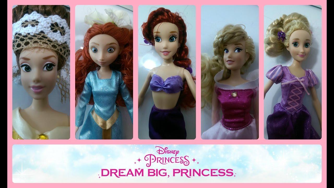 Disney Hairstyles american girl doll disney hairstyle minnie mouse buns inspired by cutegirlshairstyles hd youtube Disney Princess Dolls Hairstyles Belle Merida Snow White Ariel Aurora Rapunzel