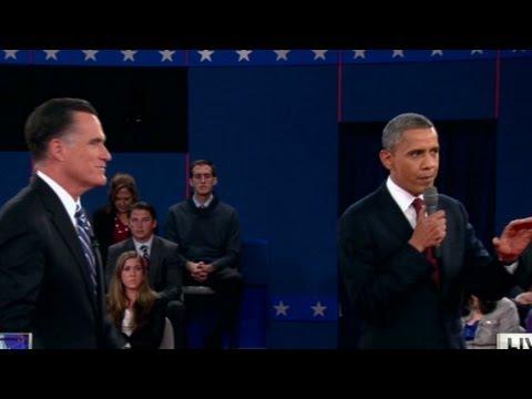 Obama, Romney get heated over Libya