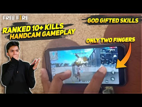 India's No.1 Free Fire Player With Only Two Finger GOD GIFTED SKILL Garena Free Fire 2020