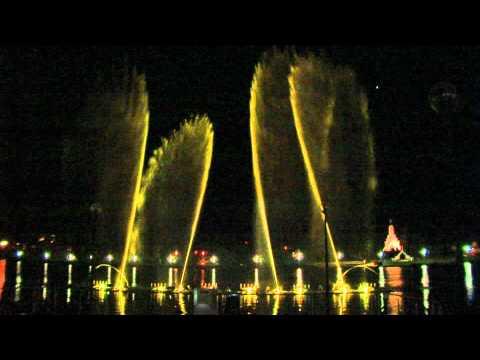 Utenos miesto Dauniškio ežero fontanas