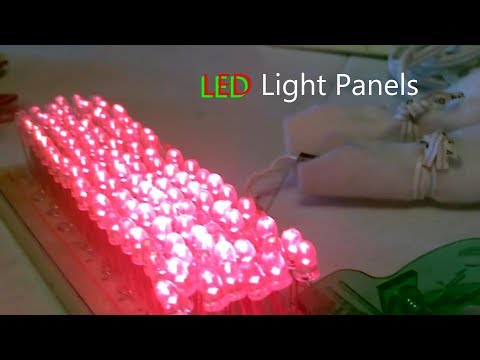 Heal With Light! - DIY Cold Laser Therapy (LLLT) 660nm Red Light - LED Healing Panels! Ez DIY ($25)