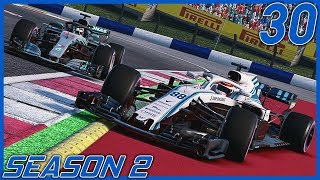 A LEGENDARY BATTLE WITH LEWIS HAMILTON! | F1 2018 Williams Career Mode S2 Ep. 30 | Austria