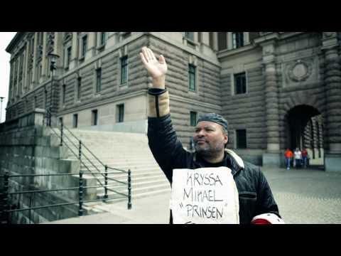 """Kryssa den rappande riksdagskandidaten Mikael """"Prinsen"""" Trolin  2010"""