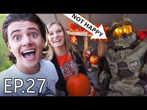 CHIEF HATES HALLOWEEN!!?   Living With Chief Ep.27
