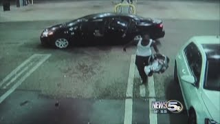 VIDEO: Car thief returns baby