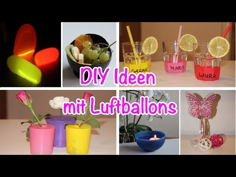 8 geniale Sachen, die man mit Luftballons machen kann/balloon-ideas / TäglichMama