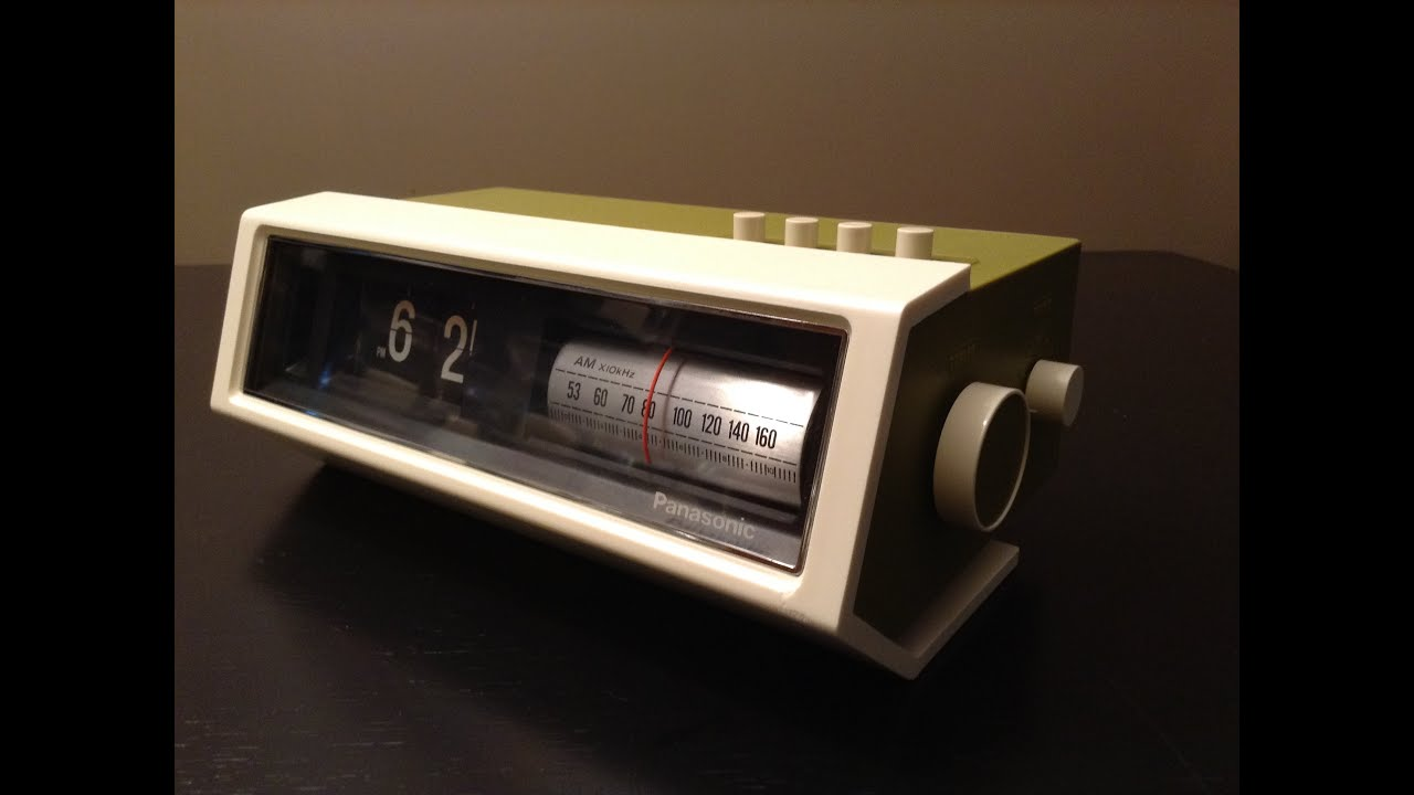 review of the panasonic rc 1122 am radio flip clock flip clock fans forum. Black Bedroom Furniture Sets. Home Design Ideas