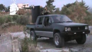 ضرب مرصد بارودا برشاش 14.5 في معركة عائشة أم المؤمنين - CNA