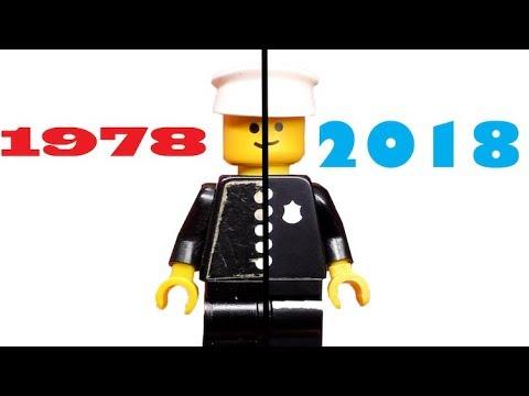 1978 vs. 2018 | Lego Policeman Unboxing + Vergleich! - YouTube