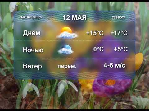 Погода на 12 и 13 мая.